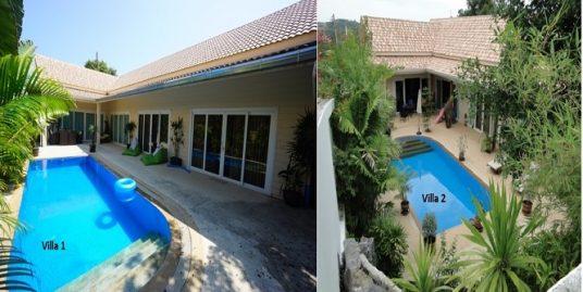 A vendre 2 villas Plai Leam Koh Samui