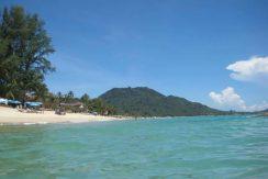 Bungalow Lamai Beach vue mer