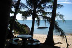 Bungalow appartement Lamai vue plage