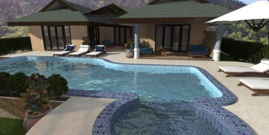 Choeng Mon Beach villa 1 chambre piscine