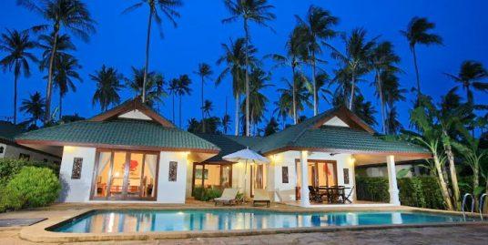 Villa grand luxe Choeng Mon Beach 4 chambres