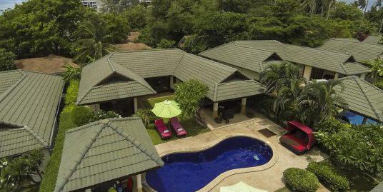 Luxueuse villa Choeng Mon Beach 4 chambres