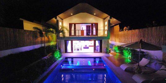Ban Tai villa 3, 6 chambres piscine privée proximité plage