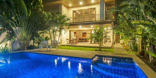 Bang Rak villas 2 chambres piscine près de la plage
