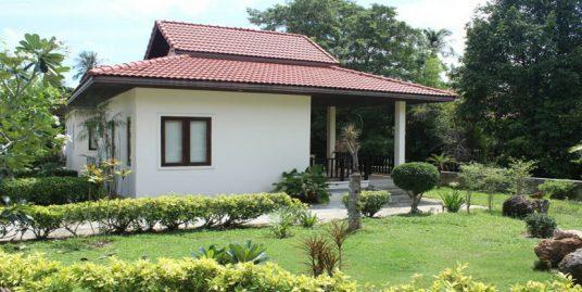 Chalet Mae Nam Koh Samui 1chambre piscine