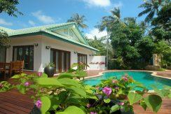 Laem Set beach villa Koh Samui