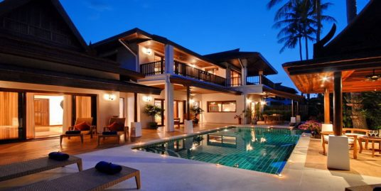Laem Set villa Banburee Koh Samui 4 chambres piscine plage