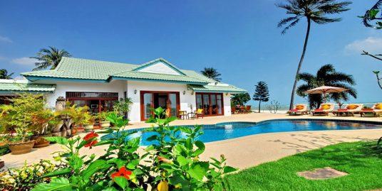 Laem Set villa Chaai Haat 4 chambres piscine bord de plage