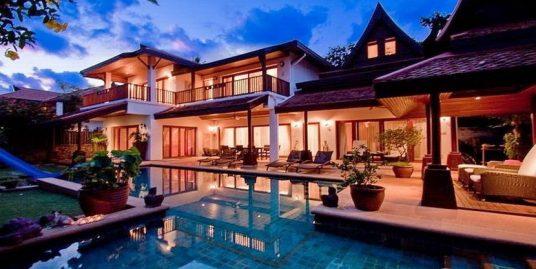 Laem Set villa Chang Koh Samui 5 chambres piscine plage