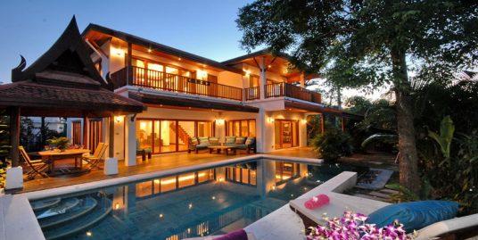 Laem Set villa Chantra 2 chambres piscine fitness bar plage