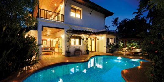 Laem Set villa Fah Sai Koh Samui 3 chambres piscine plage