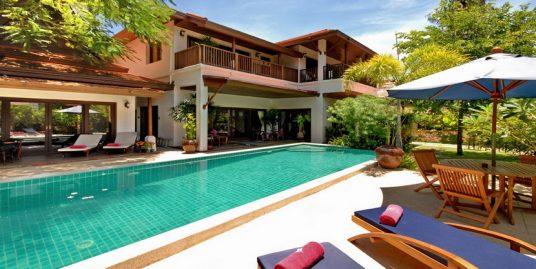 Laem Set villa Jasmine location 3 chambres piscine plage