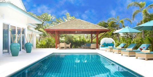 Laem Set villa Khwam Rak 3 chambres piscine spa plage