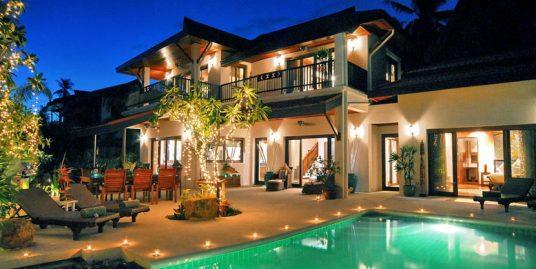 Laem Set villa Lotus 4 chambres piscine spa fitness plage