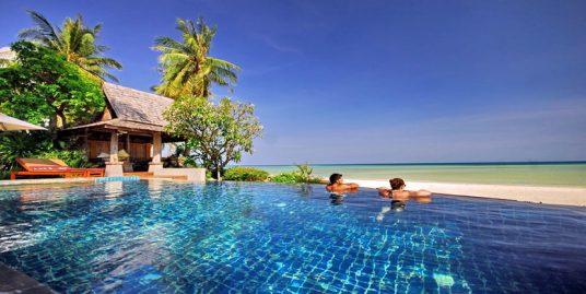 Laem Set villa Sarika 5 chambres yoga piscine sur la plage