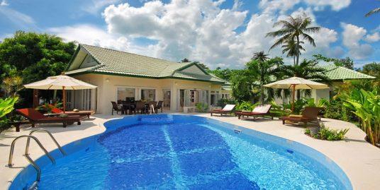 Laem Set villa Suay 3 chambres piscine club enfants plage