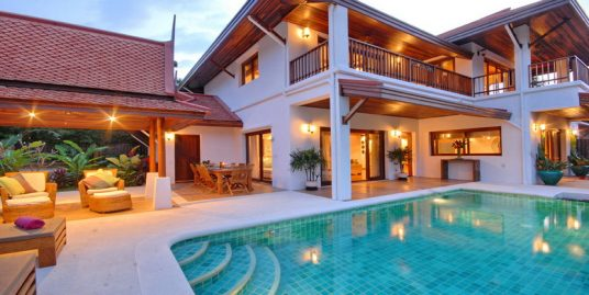Laem Set villa Tawana Koh Samui 3 chambres piscine plage