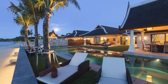Location Mae Nam Beach villa 5/6/7 chambres piscine plage