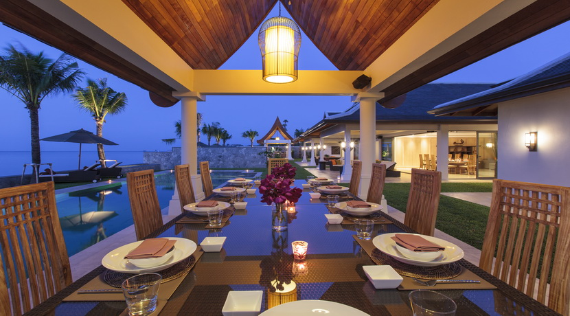 Location Mae Nam Beach salle a manger exterieure_resize
