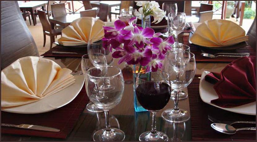 Location villa Choeng Mon restaurant_resize