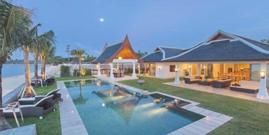 Location villa Mae Nam Beach 5/6/7 chambres piscine plage