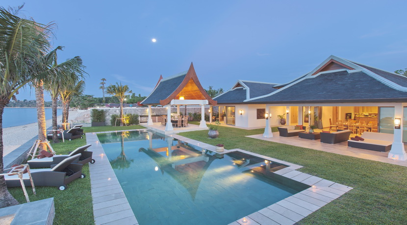 Location villa Mae Nam Beach 5/6/7 chambres piscine plage