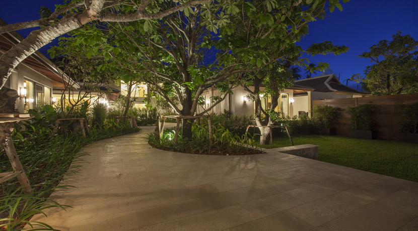 Location villa Mae Nam Beach jardin_resize