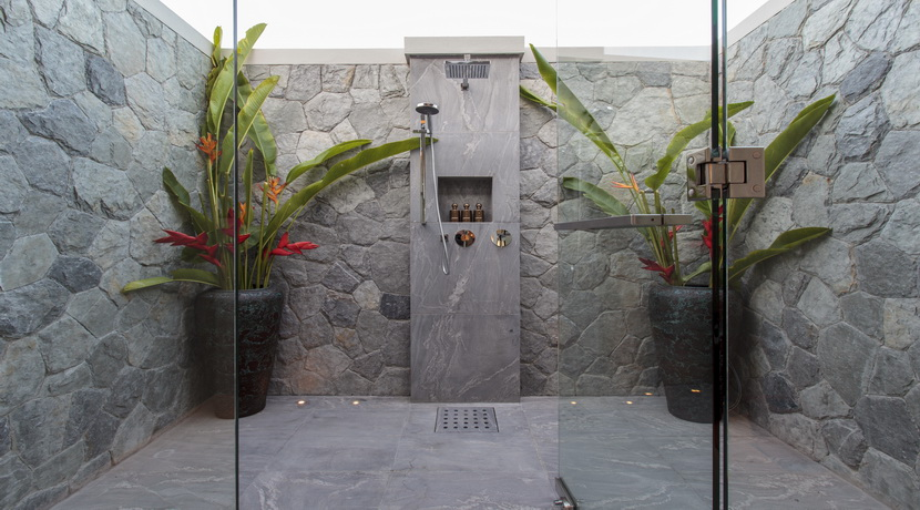 Location villa Mae Nam Beach salle de bain douche_resize