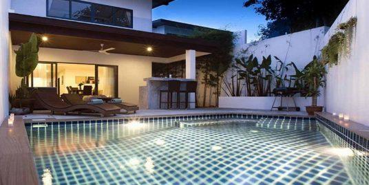 Location villa tout confort Choeng Mon piscine