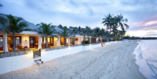 Mae Nam beach villa plage 2/4 chambres piscine vue mer