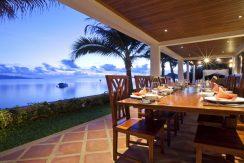 Mae Nam beach villa plage salle a manger dehors_resize