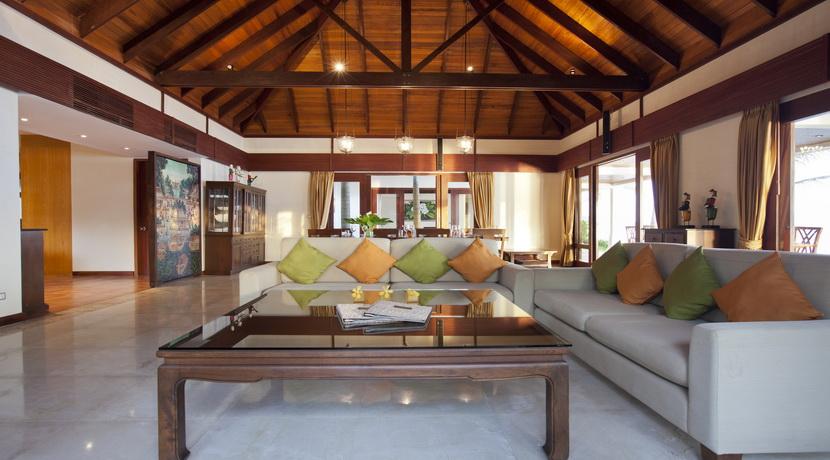 Mae Nam beach villa plage salon_resize