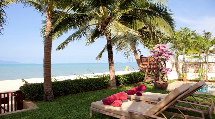 Maenam beach villa vue jardin_resize