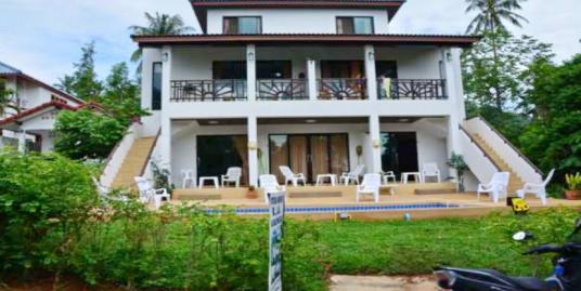 Vente petit hôtel Lamai Koh Samui piscine près de la plage