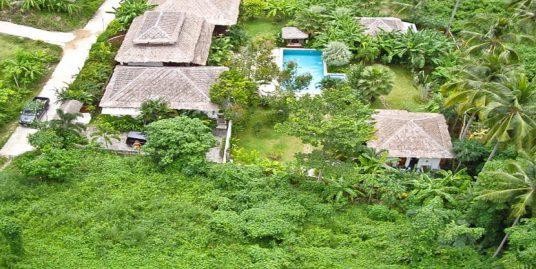 Villa Balinaise Lamai Koh Samui 4 chambres piscine jardin