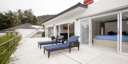 Villa Chaweng 2 chambres piscine vue mer
