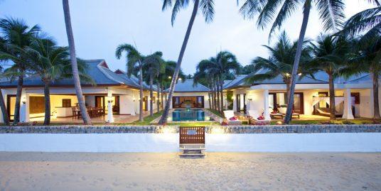 Villa Maenam beach 3/5 chambres piscine bord de plage