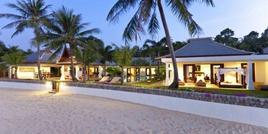 Villa Maenam 3/5 chambres piscine privée bord de plage