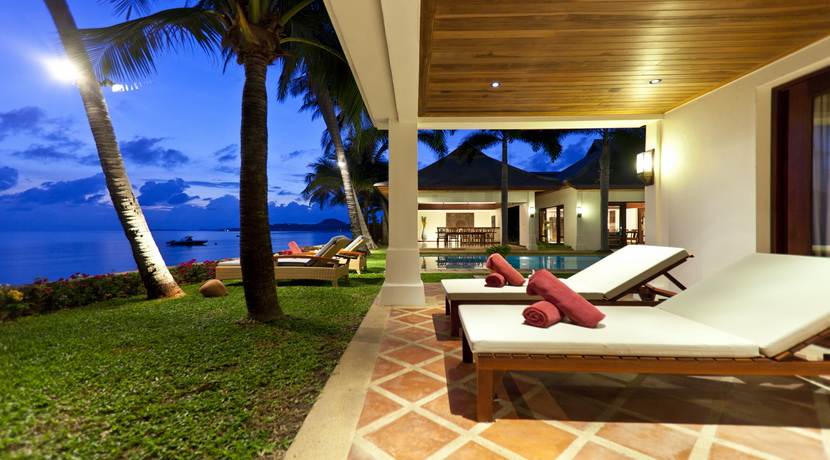 Villa Maenam beach chambre principale terrasse_resize