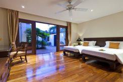 Villa Maenam beach chambre twin_resize