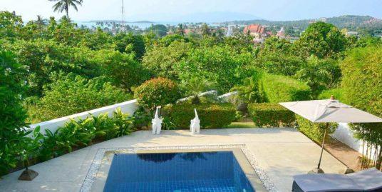 Villa haut standing Choeng Mon avec piscine