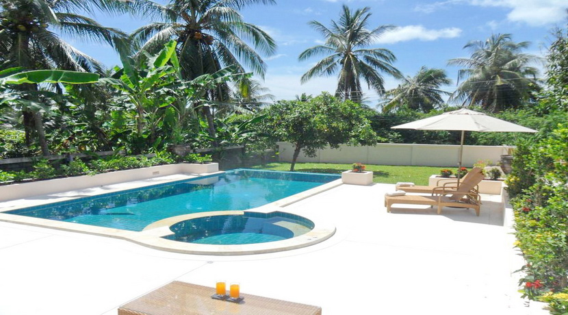 Villa location Plai Laem Koh Samui vue piscine_resize