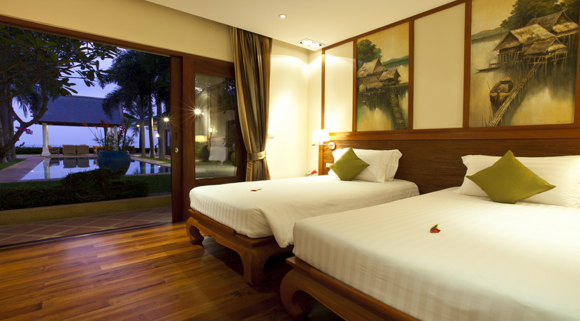 Villa luxueuse Maenam chambre twin_resize