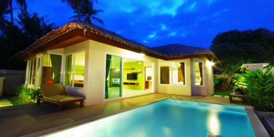 Villa piscine koh Samui Chaweng 2 chambres bar piscine