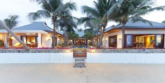Villa plage Maenam 3/5 chambres piscine bord de mer