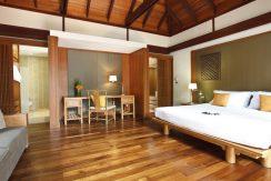 Villa plage Maenam chambre lit double (2)_resize