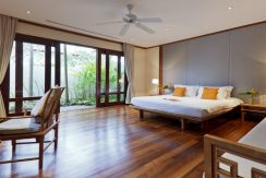 Villa plage Maenam chambre lit double (3)_resize