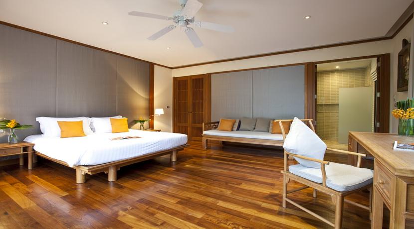 Villa plage Maenam chambre lit double (4)_resize