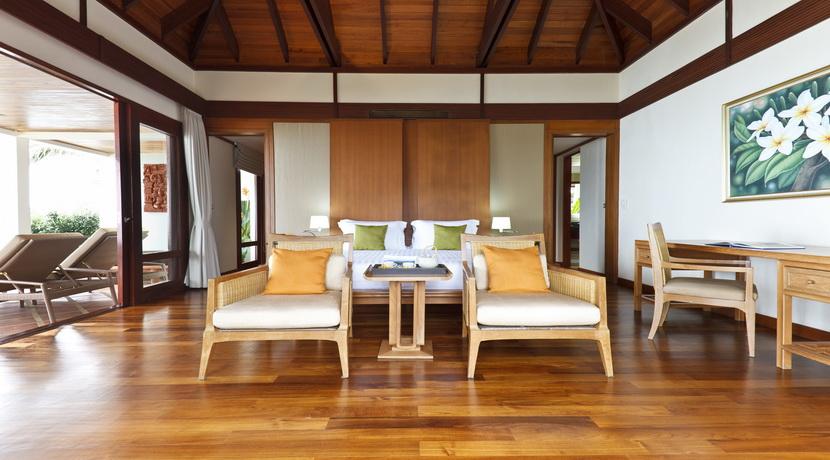Villa plage Maenam chambre principale_resize