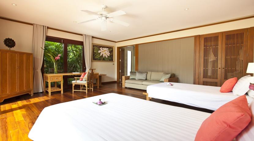 Villa plage Maenam chambre twin (2)_resize